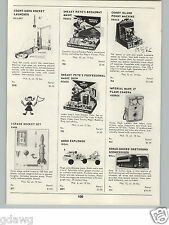 1959 PAPER AD Ideal Toy Moon Explorer Truck Bell Sonar Guided Greyhound Bus