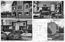 Rückmarsdorf Gaststätte am Bahnhof Am Leipziger Hafen Postkarte 1939