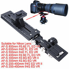 Long Focus Lens Holder for Nikon AF-S 300mm f/2.8G ED VR & II Tripod Mount Ring