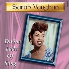 CD-Sarah Vaughn-Divine Lady of Song Aug-2004, Collectors' Choice Music)