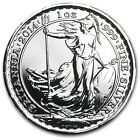 2014 Great Britain 1 oz Silver Britannia - Year of the Horse Privy - SKU #81184