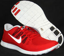 NIB NIKE Mens 10.5 FREE 5.0+ 579959 600 GAME RED CASUAL FITNESS SHOES $100