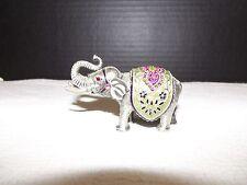 Royal Gem Pewter & Swarovski Crystal Elephant Trinket Box