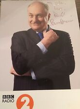 6x4 Hand Signed Photo of Radio Presenter Paul Gambaccini