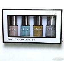 Nails Inc 4 pc In the Nude Nail Lacquer Colour Collection Boxed Sealed