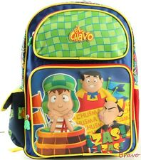 "2016 Brand New El Chavo 16""  LARGE SCHOOL Backpack Bag For Kids USA SHIP"