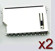 2x Socket slot/connecteur à souder carte SD Card Slot Socket solder 2x connector