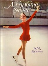 A Very Young Skater  by Jill Krementz B&W photos Review Copy w/ photos laid in