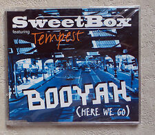 "CD AUDIO INT/ SWEETBOX FEATURING TEMPST ""BOOYAH (HERE WE GO)"" CD MAXI PROMO  APR"