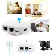 300m Mini Portable Router Repeater Router Wifi 3G Wireless Modem USB Flash Drive
