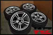 "Complete Set of Four 12-14 18"" BMW F30 3 Series ActiveHybrid Wheels Tires OEM!"