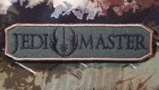 JEDI MASTER ARMY TAB USA ISAF MORALE FOREST VELCRO® BRAND FASTENER BADGE PATCH