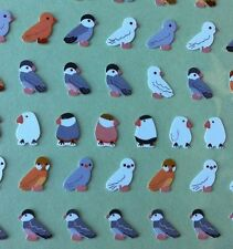 Korea Made Funny Sticker World Love Birds Finches 119 stickers per sheet