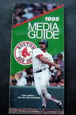 1985 Boston Red Sox Media Information Guide Tony Armas Cover
