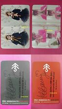 Lot of 2 TTS TIFFANY Official Photocard Dear Santa RED GREEN TaeTiSeo SNSD 티파니