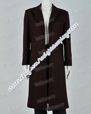 Doctor Brown Who The Bells Of Saint John Dr 11th Trench Coat Costume Halloween