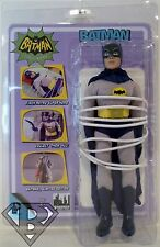 "BATMAN TIED UP ON TABLE DC Batman Classic 1966 TV Series 8"" Retro Figure 2015"