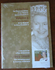 The Diamond Jubilee Of HRH Queen Elizabeth II Volume 5 Stamp Collection Sealed