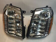 *NEW SET ESCALADE PLATINUM DRIVER + PASSENGER HEADLIGHTS LED OEM LEFT RIGHT