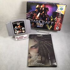 StarCraft 64 Nintendo 64 * N64 CIB * Complete in Box * Star Craft * RARE *