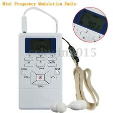 Mini Digital Portable Frequency Modulation FM Radio Signal Processing Receiver