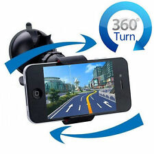 Universal 360 Rotation Car Windshield Mount Stand Holder For GPS Cell Phone IT