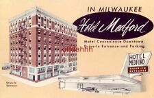 HOTEL MEDFORD, IN MILWAUKEE, WI 1959 Ernst Clarenbach Systems