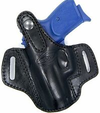 "Premium Leather Thumb Break Belt Holster for SPRINGFIELD EMP 3""1911 MICRO COMPAC"