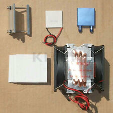 Thermoelectric Peltier Refrigeration Cooling System Kit Cooler fan + TEC1-12715T
