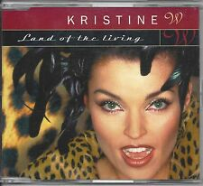 Kristine W  ‎– Land Of The Living    Maxi cd  8 tracks