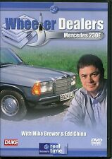 WHEELER DEALERS MERCEDES 230E DVD WITH MIKE BREWER & EDD CHINA