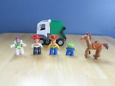 LEGO Duplo People - Toy Story Jessie Woody Bullseye Buzz Alien and Dump Truck