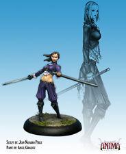 Anima Tactics - Dark: Female Azure Agent CS2037