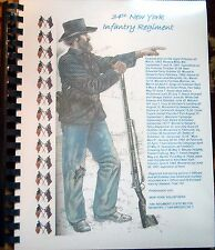 Civil War History of the 34th New York Infantry Regiment