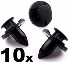 10x Rivets Fastener Mud Flaps Bumper Fender Push Clips 8mm For Nissan Armada