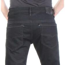 Thavar Z886 Diesel Jeans Slim Skinny Black Men New Size 32x30