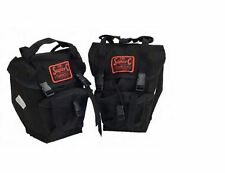 NEW Carradice Super C Universal Front Bike Panniers (PAIR) Cotton Duck TOURING