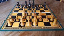 """Excelente grandes Impreso Plegable Tablero de ajedrez en función de diseño antiguo con 2"""" plazas"""