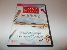 NEW DVD Frank Clarke's Simply Painting DVD ATLANTIC SEASCAPE BENNEVINA MOUNTAIN
