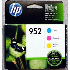 3-PACK HP GENUINE 952 Color Ink (RETAIL BOX) OFFICEJET PRO 8710