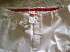 PUMA Tech Golf Pants -White -  W36 / L32 - BRAND NEW WITH TAGS!!!