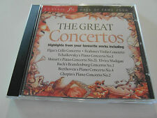 Classic FM / The Great Concertos / Hall Of Fame (CD Album 2006) Used Very Good