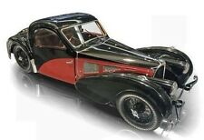 Bauer Large 1:12 Scale 1937 Bugatti 57SC Atalante, Black/Red