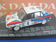 Die cast 1/43 Lancia Delta Integrale RMC 1989 M.Biasion (Passione Rally) by Ixo