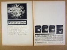 1969 Sharp Compet CS 17 16 22 & 32 Calculators vintage print Ad