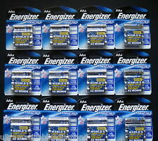 ENERGIZER ULTIMATE LITHIUM AA BATTERIES  12 FOUR PACKS! 48 TOTAL 12/2036 EXP!