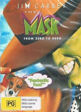 The Mask -  Jim Carrey DVD NEW