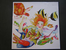 "TRACY TAYLOR WATERCOLOR PRINT ""REAL PEARLS"" AQUATIC MERMAID FANTASY~11"" X 11"""