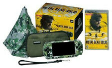 USED Playstation PSP Metal Gear Solid Peace Walker Big Boss Premium package