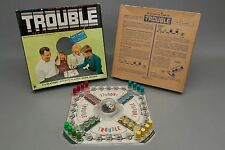 1965 Kohner Brothers No. 310 Trouble Pop-o-matic Chase Game Used